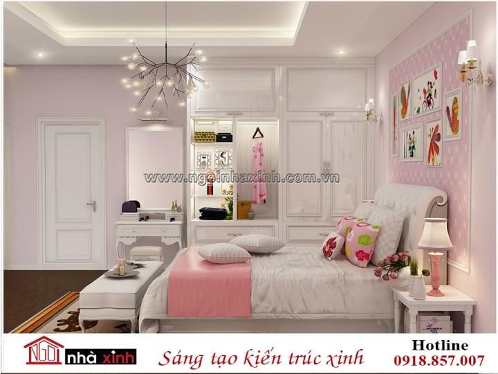 Mẫu nội thất nhà đẹp | Tân Cổ điển | Anh Phú - Chị Giang  |  Trung Sơn | NNX - NT733