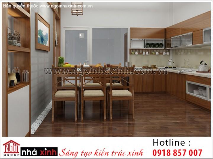 Mẫu Nội Thất Phòng Bếp & Phòng Ăn Đẹp | Hiện Đại | Chị Thu Tâm - Đồng Nai | NT. NNX 190