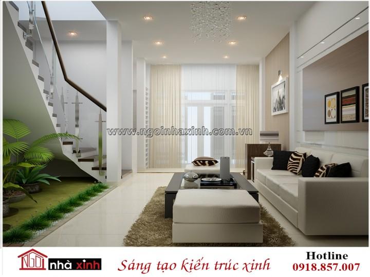 Mẫu nội thất phòng khách đẹp | Hiện Đại | Anh Văn - Nguyễn Văn Trinh | NT. NNX 194