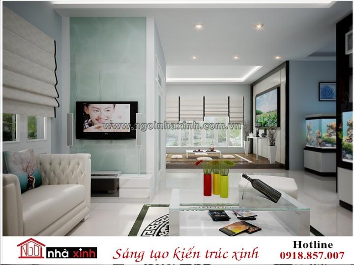 Mẫu nội thất phòng khách đẹp | Hiện Đại | Linh Sơn - Hà Tĩnh | NT. NNX 184