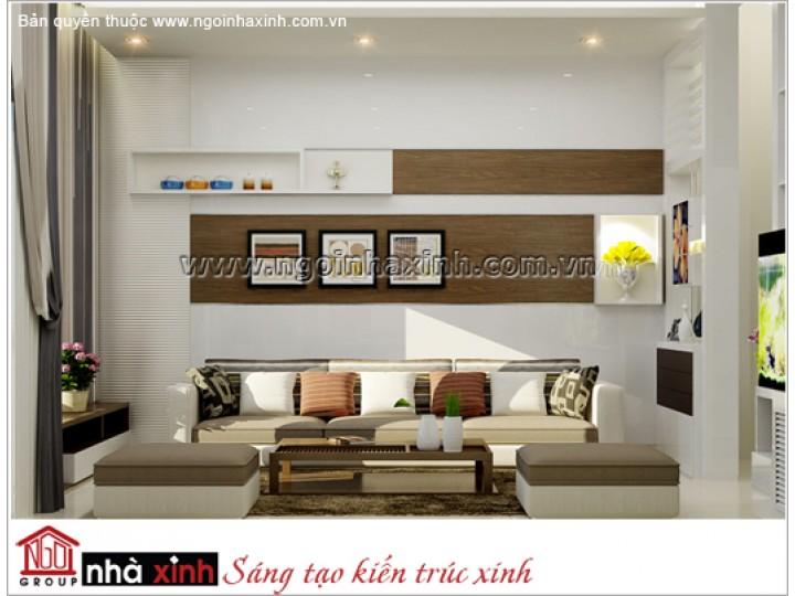 Mẫu Phòng Khách Đẹp Sang Trọng | Hiện Đại | Nhà Phố | Quận 5 | NT. NNX 024