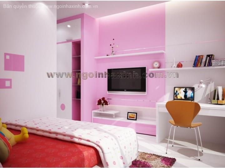 Màu sắc và cách bài trí nội thất trong phòng ngủ trẻ em