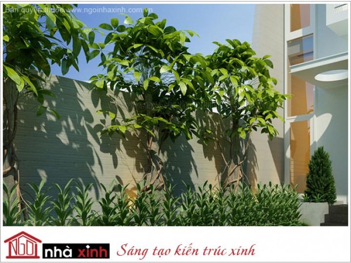 Mẫu Sân Vườn & Tiểu Cảnh Đẹp | Vách Trang Trí | Hòn Non Bộ | NT.NNX 138 | CĐT: C. Tuyền, Long Khánh
