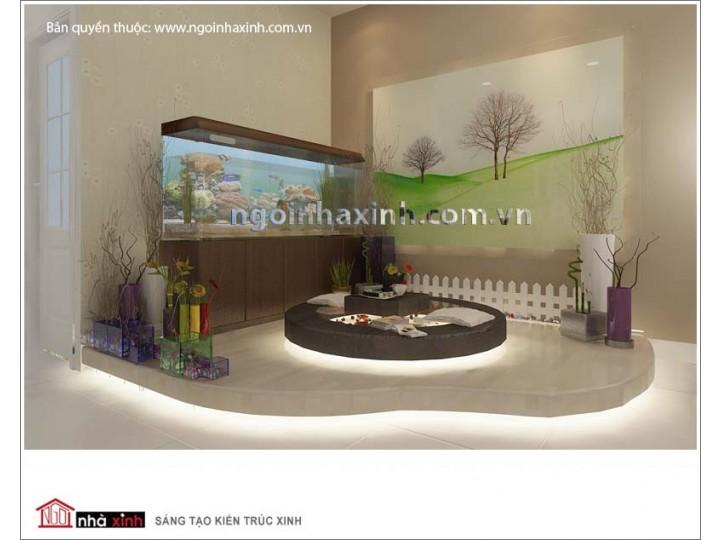 Mẫu Sân Vườn & Tiểu Cảnh Đẹp | Vách Trang Trí | Hòn Non Bộ | NT.NNX033 | CĐT: Anh Thành ĐC: Q. 11, Tp. HCM