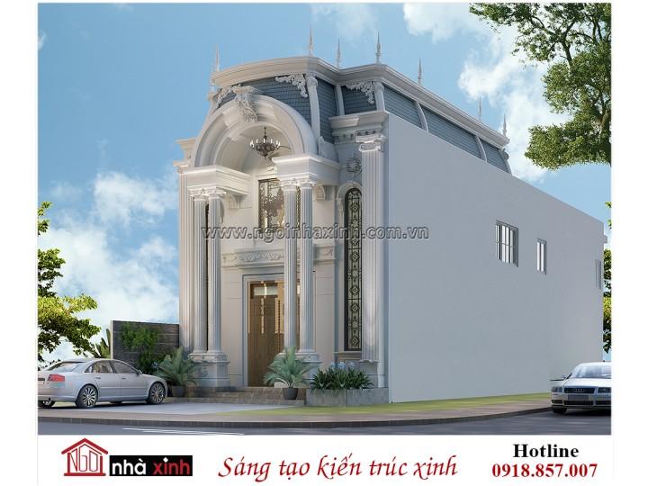 Mẫu Thiết Kế Biệt Thự Đẹp | Cổ Điển | Anh Tài - Sóc Trăng | NNX - BT702