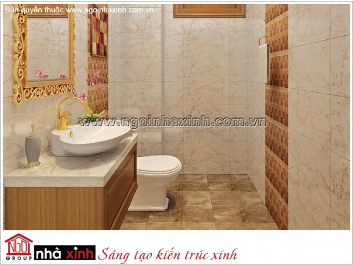 Mẫu Thiết Kế Nội Thất Phòng Tắm Đẹp| Tân cổ Điển | Tây Ninh | NT.NNX163