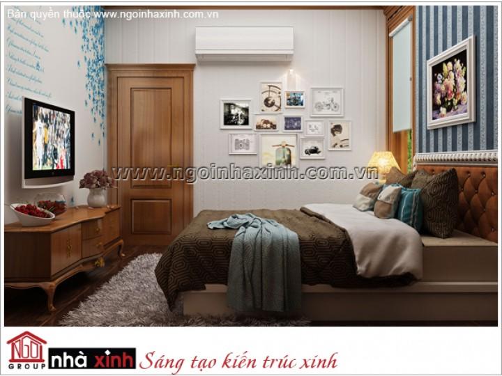 Mẫu Phòng Ngủ Đẹp | Tân cổ Điển | Tây Ninh | NPNNX163