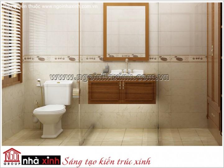 Mẫu Thiết Kế Phòng Tắm Đẹp| Tân cổ Điển | Tây Ninh | NT.NNX163