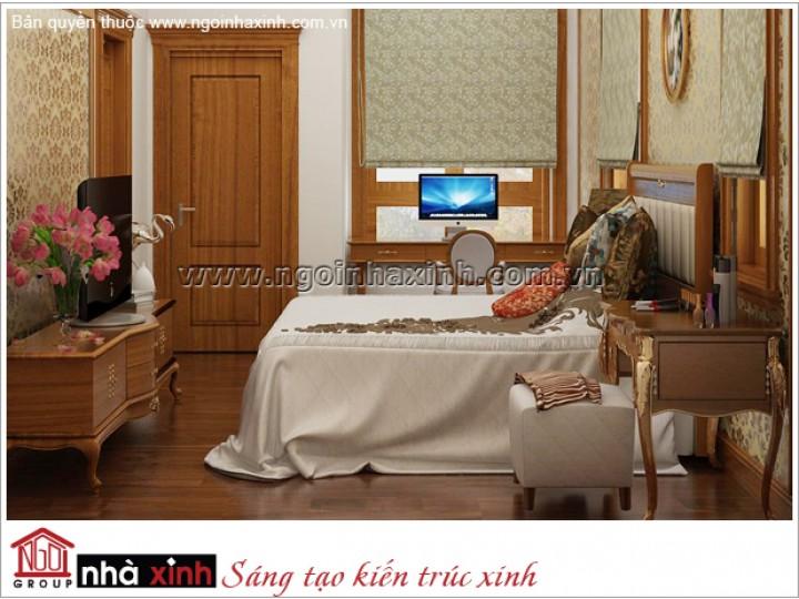 Mẫu Thiết Kế Phòng Ngủ Đẹp | Tân cổ Điển | Tây Ninh | NPNNX163