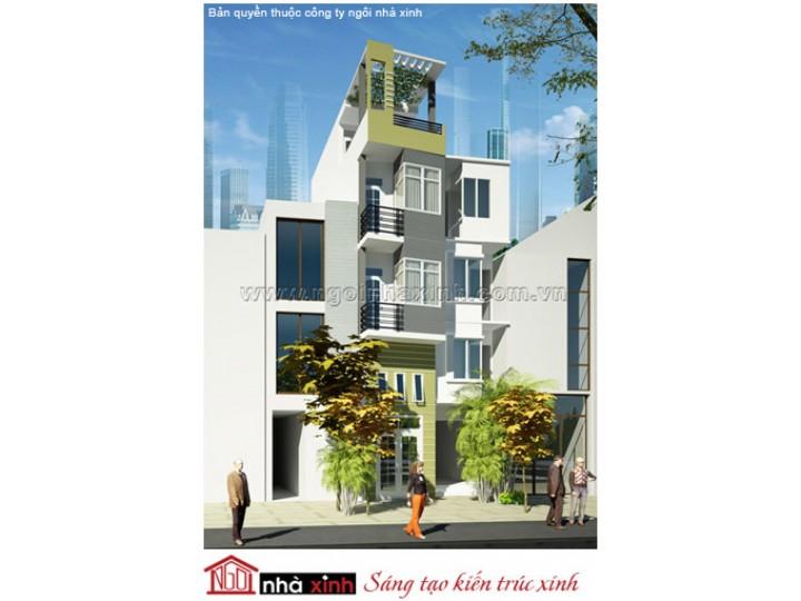 Mẫu Thiết Kế Nhà Phố Đẹp | Hiện Đại | 4 Tầng | 4 M Mặt Tiền | Anh Tuấn - Quận Phú Nhuận | NPNNX012
