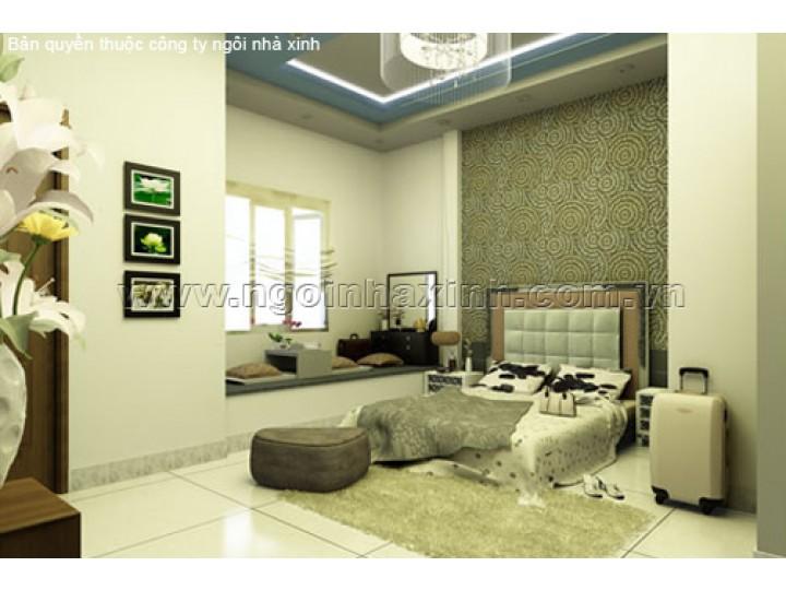 Mẫu Thiết Kế Phòng Ngủ Xinh Đẹp | Hiện Đại | Quận Phú Nhuận | NPNNX012