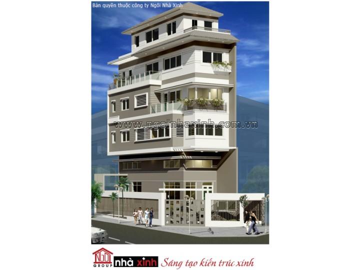 Mẫu Thiết Kế Nhà Phố Đẹp | Hiện Đại | 5 Tầng | 7M Mặt Tiền | Anh Quang Sung - Quận 6 | NPNNX067