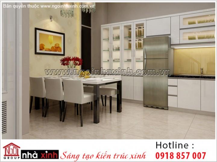 Nội Thất Phòng Bếp & Phòng Ăn Đẹp | Hiện Đại | Anh Khanh - Bến Tre | NPNNX018