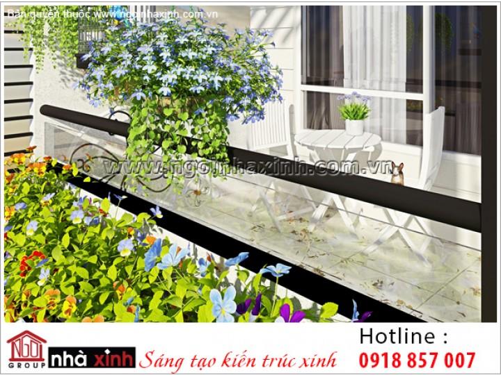 Mẫu Thiết Kế Nhà Phố Đẹp - Ngôi Nhà Xinh | Hiện Đại - Bến Tre | NPNNX018
