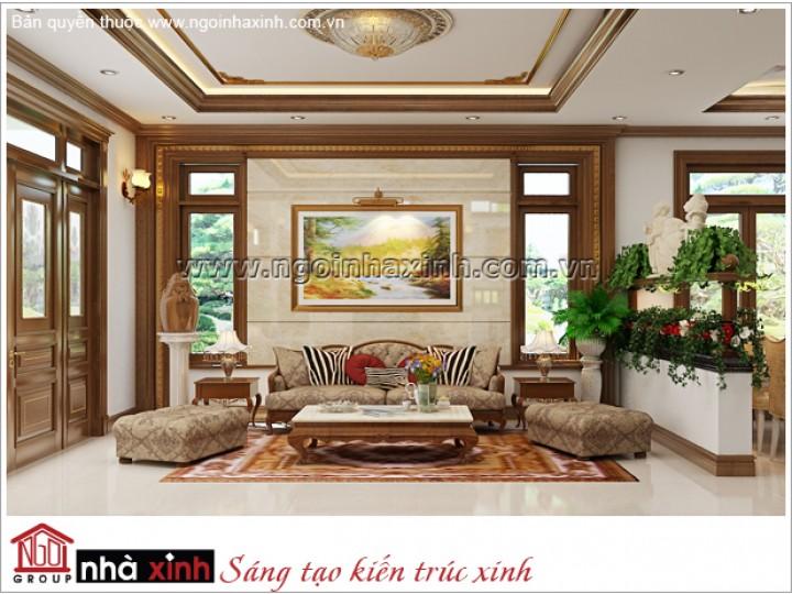 Mẫu Thiết Kế Nội Thất Đẹp | Cổ Điển | Biệt Thự Vườn - Nhơn Trạch – Đồng Nai | NTNNX169