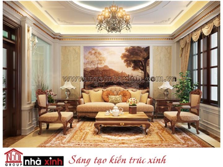 Mẫu Nội Thất Đẹp Lộng Lẫy | Cổ Điển | Phong Cách Hoàng Gia | Chị Liễu - TP. Hà Nội | NT. NNX085