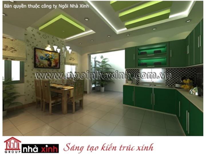 Nội Thất Phòng Bếp & Phòng Ăn Đẹp | Hiện Đại | Anh Tuyển - Bình Dương | NT.NNX012