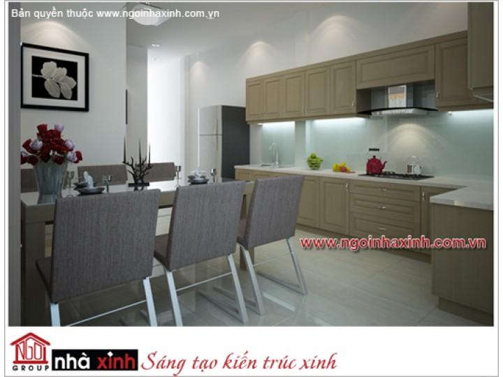 Mẫu Phòng Bếp & Phòng Ăn Đẹp | Hiện Đại | Cô Yến - Đồng Nai | NT. NNX053