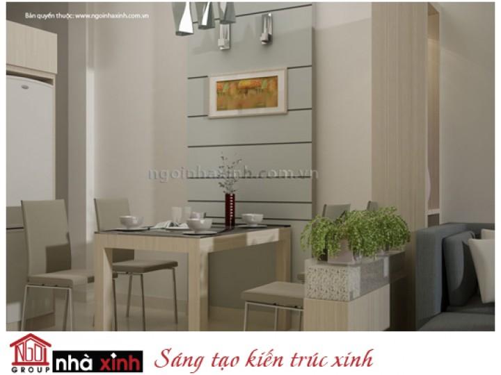 Mẫu Nội Thất Phòng Bếp & Phòng Ăn Đẹp | Hiện Đại | Anh Long - Quận 10 | NT.NNX049