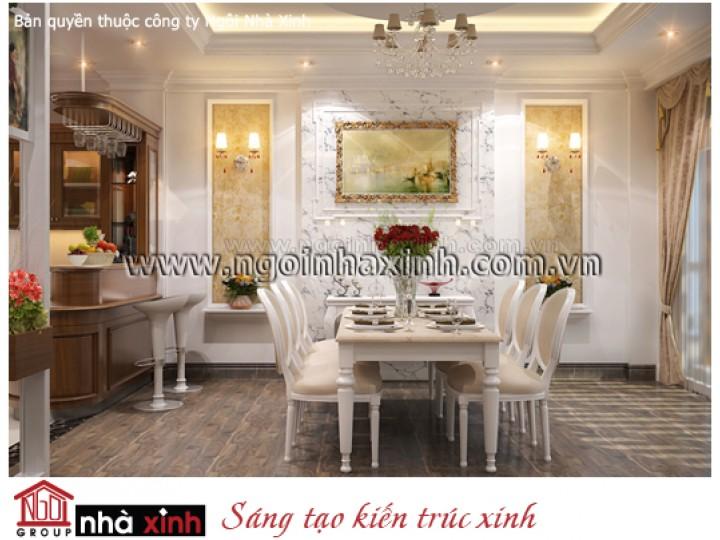 Mẫu Thiết Kế Phòng Bếp & Phòng Ăn Đẹp | Hiện Đại | Anh Thành - Quận 11 | NT.NNX033