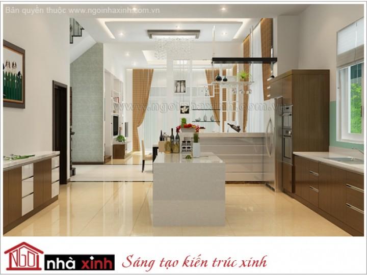 Nội Thất Phòng Bếp Đẹp | Hiện Đại | Ông Duyên - Quận 7 | NT.NNX 132
