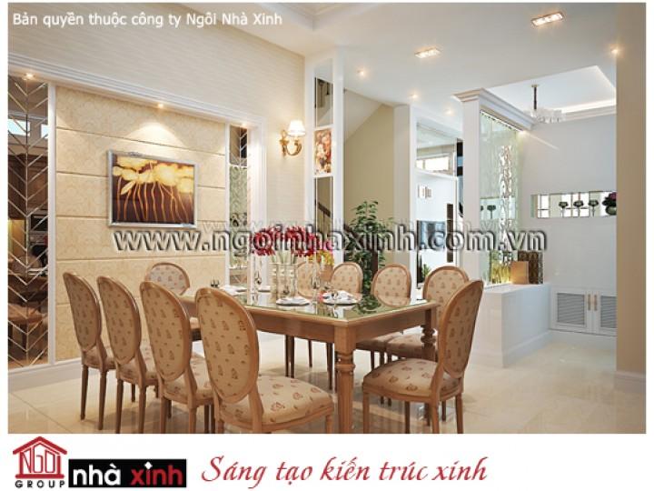 Nội Thất Phòng Bếp & Phòng Ăn Đẹp | Tân Cổ Điển | Anh Bảo - Quận 2 | NT. NNX 057