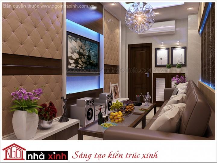 Mẫu Nội Thất Phòng Karaoke Ấn Tượng | Hiện đại | Chị Liên - Ngô Đức Kế | NT.NNX 131