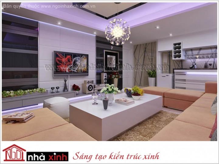 Mẫu  Phòng Khách Đẹp Kiêu Sa | Hiện Đại | Biệt Thự | Q. 2  | NT. NNX102