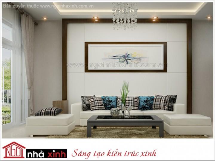 Mẫu Phòng Khách Đẹp Lung Linh  | Hiện Đại | Nhà Phố |  Q 1 | NT.NNX 141