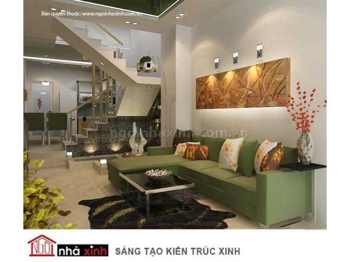 Mẫu Phòng Khách Đẹp Trang Nhã | Hiện Đại | Biệt Thự | Q. 7 | NT.NNX046