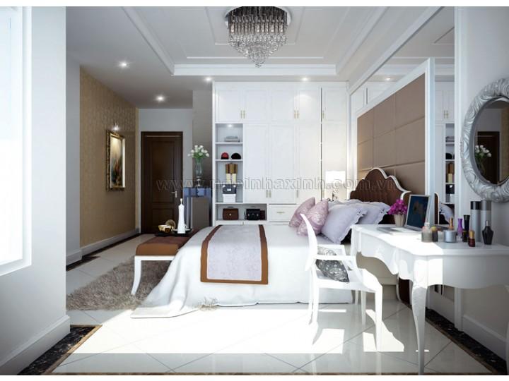Thiết Kế Phòng Ngủ Đẹp | hiện đại| NT. NNX 125 | CĐT: Chị Lan ĐC: Q. Bình Thạnh
