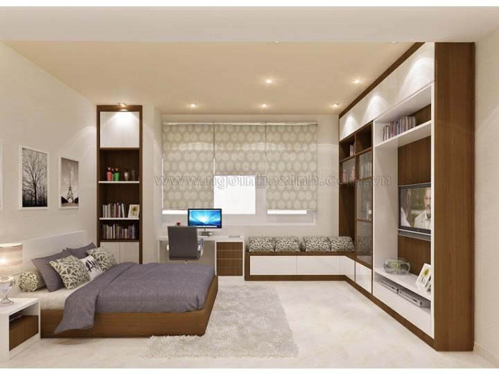 Nội Thất Phòng Ngủ Đẹp | hiện đại | ấn tượng | sang trọng |  Ô. Duyên, Q. 7| NT.NNX 132