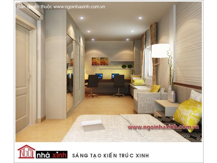 Mẫu Nội Thất Phòng Ngủ Đẹp | hiện đại | Cô Nhi - Quận 9 | NT. NNX056