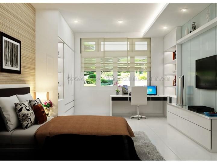 Mẫu Phòng Ngủ Đẹp hiện đại | sang trọng | Ô. Nguyễn Thế Ba, Q. 2| NT.NNX153