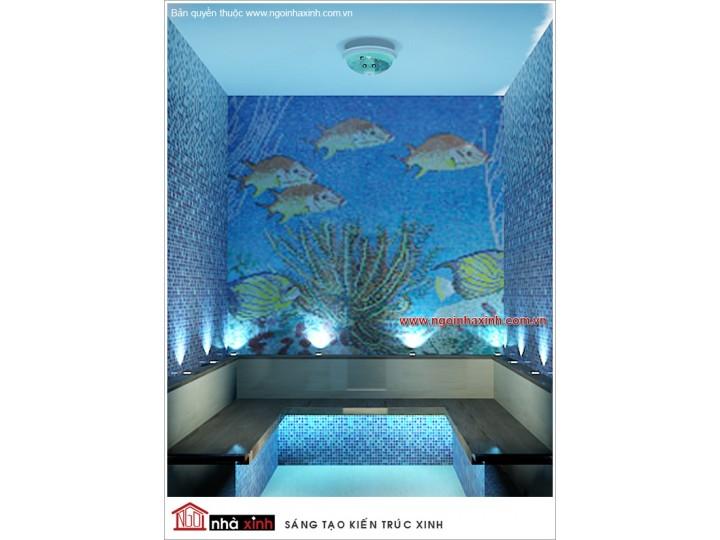 Mẫu Thiết Kế Phòng Sauna Ấn Tượng| Hiện Đại | Khách Sạn Maiharian | Q. 1 | sang trọng | NT. NNX068