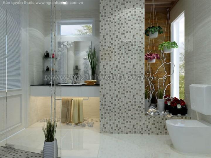 Mẫu Thiết Kế Phòng Tắm Đẹp | cổ điển | ấn tượng | sang trọng | Anh Hiếu | Q. Bình Tân |NT . NNX109