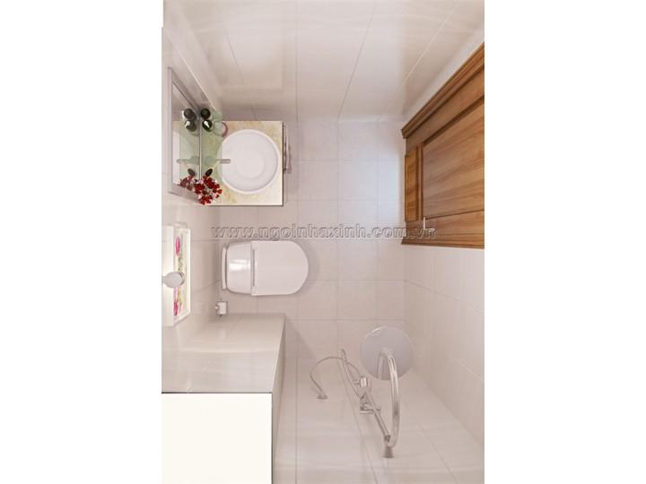 Mẫu Thiết Kế Nội Thất Phòng Tắm Đẹp | hiện đại | ấn tượng | sang trọng | Cô Hồng | Q. 2 | NT.NNX 128