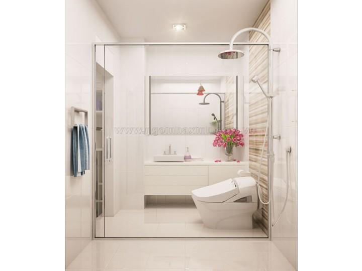 Mẫu Thiết Kế Nội Thất Phòng Tắm  Đẹp   hiện đại   ấn tượng   sang trọng   C. Liên   Ngô Đức Kế   NT.NNX 131
