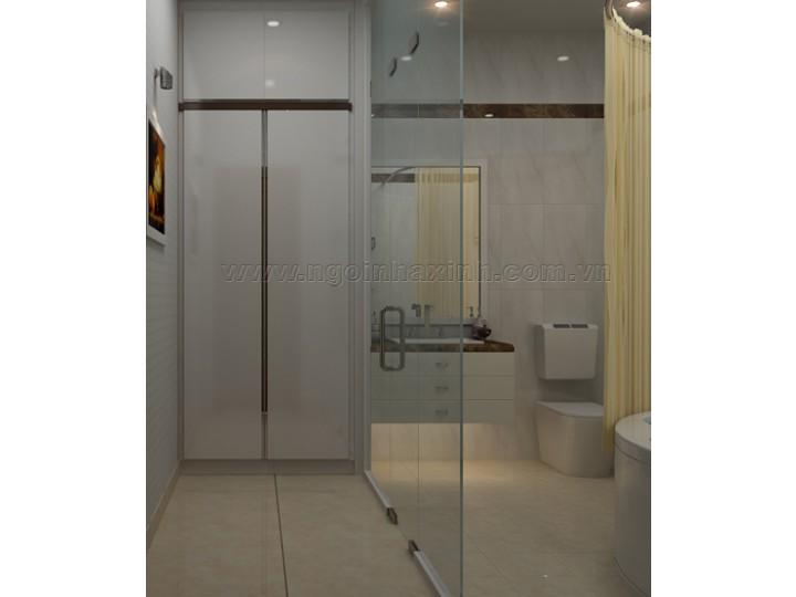 Mẫu Thiết Kế Phòng Tắm Đẹp | Hiện Đại | Ấn Tượng | Sang Trọng |  A. Văn, Q 1 | NT.NNX 139