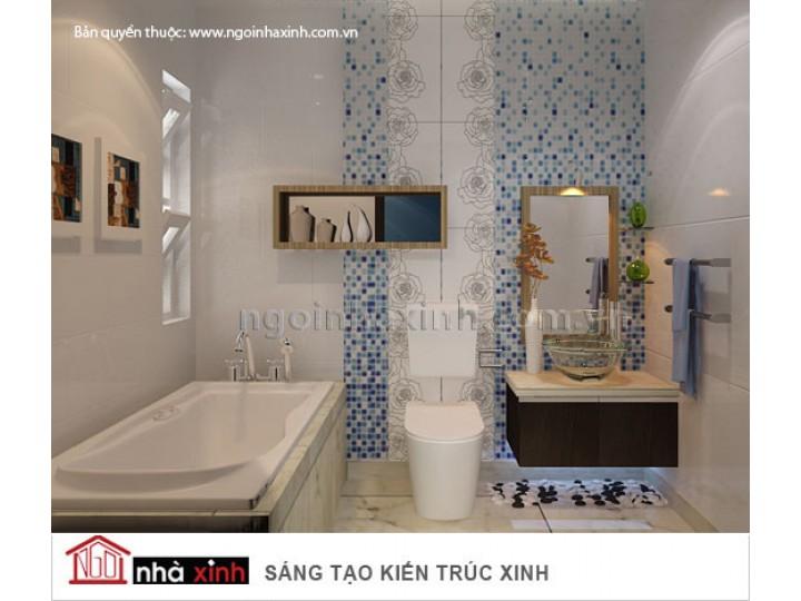 Mẫu Thiết Kế Nội Thất Phòng Tắm Độc Đáo | hiện đại | ấn tượng | sang trọng |  Anh Hải | Q.10 | NT . NNX045