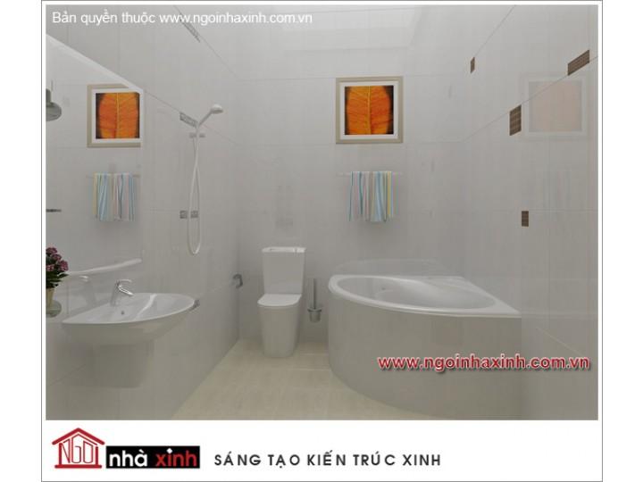 Mẫu Thiết Kế Nội Thất Phòng Tắm Đẹp | hiện đại | ấn tượng | sang trọng | Cô Yến | Đồng Nai |NT. NNX053