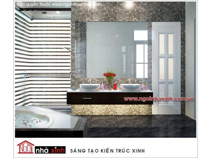 Mẫu Nội Thất Phòng Tắm Đẹp | hiện đại | ấn tượng | sang trọng | Chú Tấn | Đồng Tháp | NT.NNX065