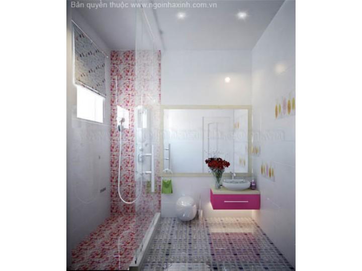 Mẫu Thiết Kế Nội Thất Phòng Tắm Đẹp | hiện đại | ấn tượng | sang trọng | Anh Xiêm | Quãng Ngãi | NT. NNX089