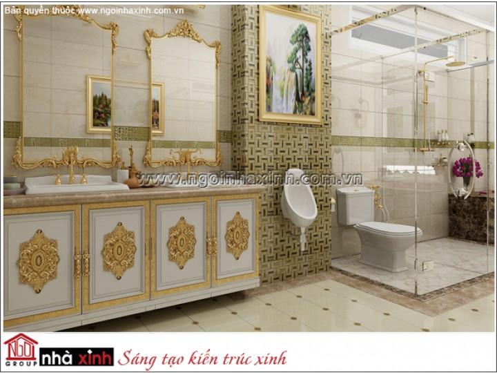 Mẫu Thiết Kế  Phòng Tắm | Cổ Điển |  Tiền Giang | NNX173
