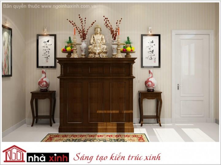 Nội Thất Phòng Thờ | hiện đại | NT. NNX161 | CĐT: Anh Mạnh ĐC: Nghệ An.