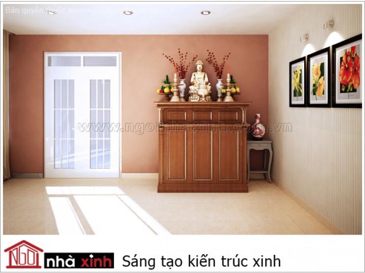 Nội Thất Phòng Thờ | hiện đại | NT . NNX167 | CĐT: Anh Vũ ĐC: Bình Dương