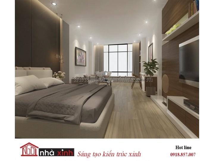Mẫu thiêt kế phòng ngủ đep | Hiện đại | Nhà Anh Dũng - Nguyễn Thái Học Quận 1