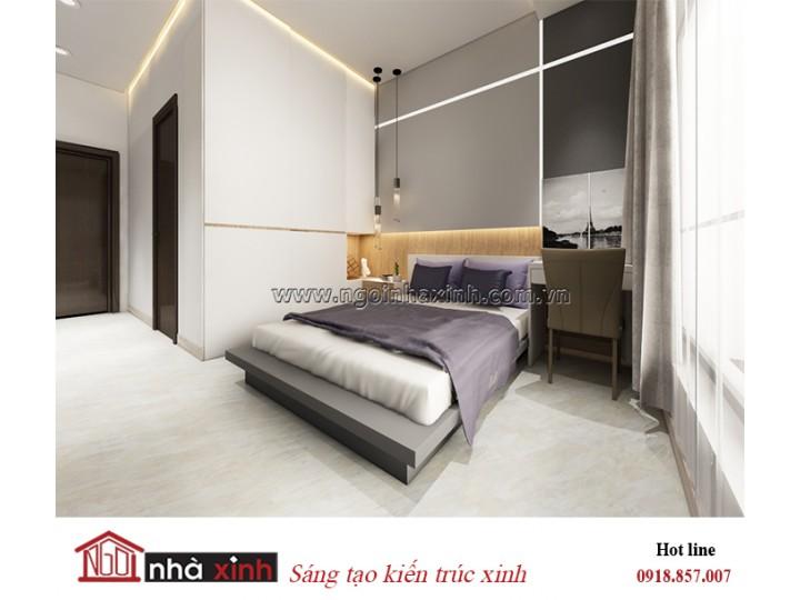 Mẫu thiêt kế phòng ngủ đẹp | Hiện đại | Nhà chị Tâm