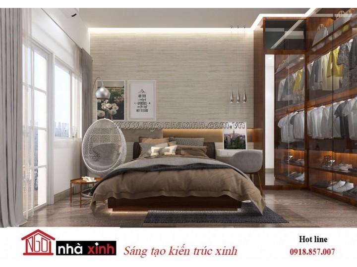Mẫu Thiết Kế Phòng Ngủ | Hiện Đại | Nhà Chị Tâm - Nguyễn Trãi
