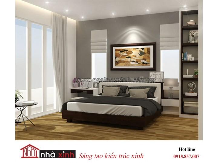 Mẫu thiết kế phòng ngủ master | Hiện Đại | Nhà Chị Hoa